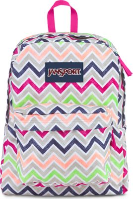Cyber Pink Summer Chevron