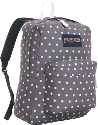 Jansport Black Polka Dot Backpack – TrendBackpack