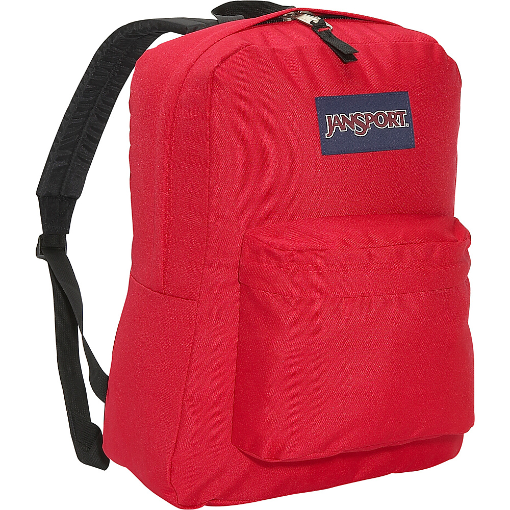 JanSport SuperBreak Backpack Red Tape - JanSport Everyday Backpacks - Backpacks, Everyday Backpacks