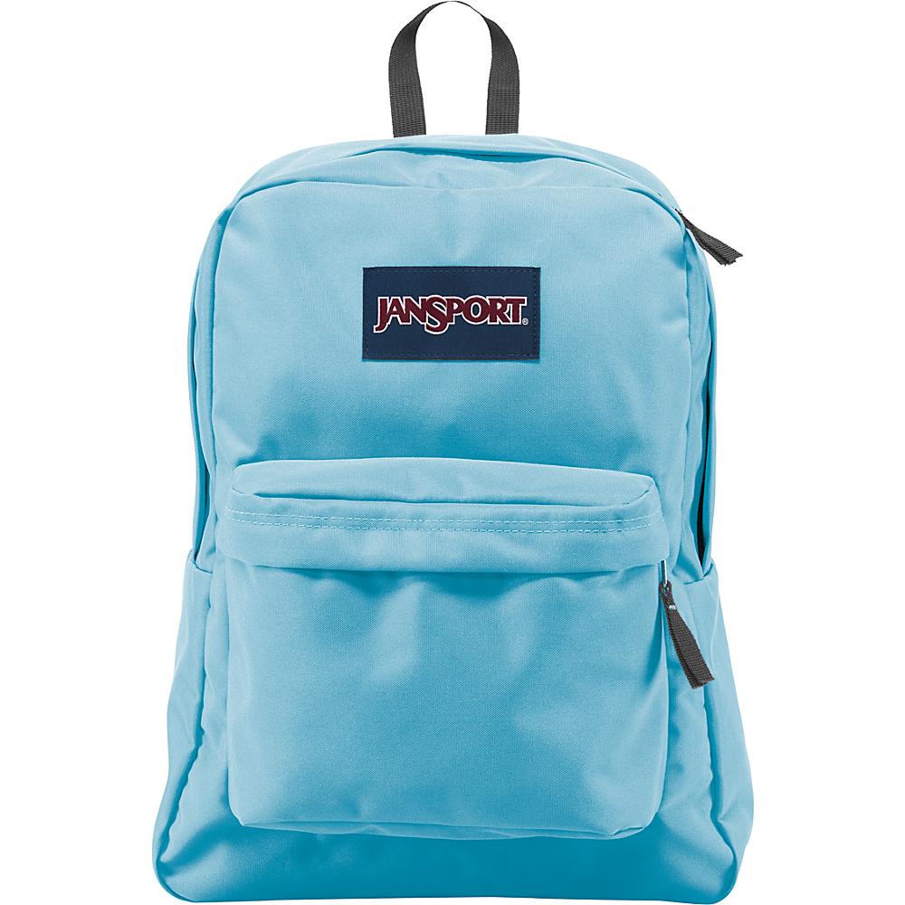 JanSport SuperBreak Backpack Blue Topaz - JanSport Everyday Backpacks