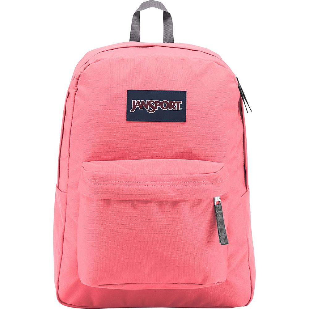 JanSport SuperBreak Backpack Pink Mist - JanSport Everyday Backpacks