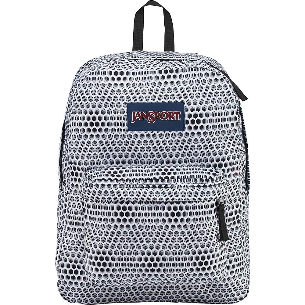 JanSport SuperBreak Backpack Cyber Pink - JanSport School & Day Hiking Backpacks - Backpacks, School & Day Hiking Backpacks