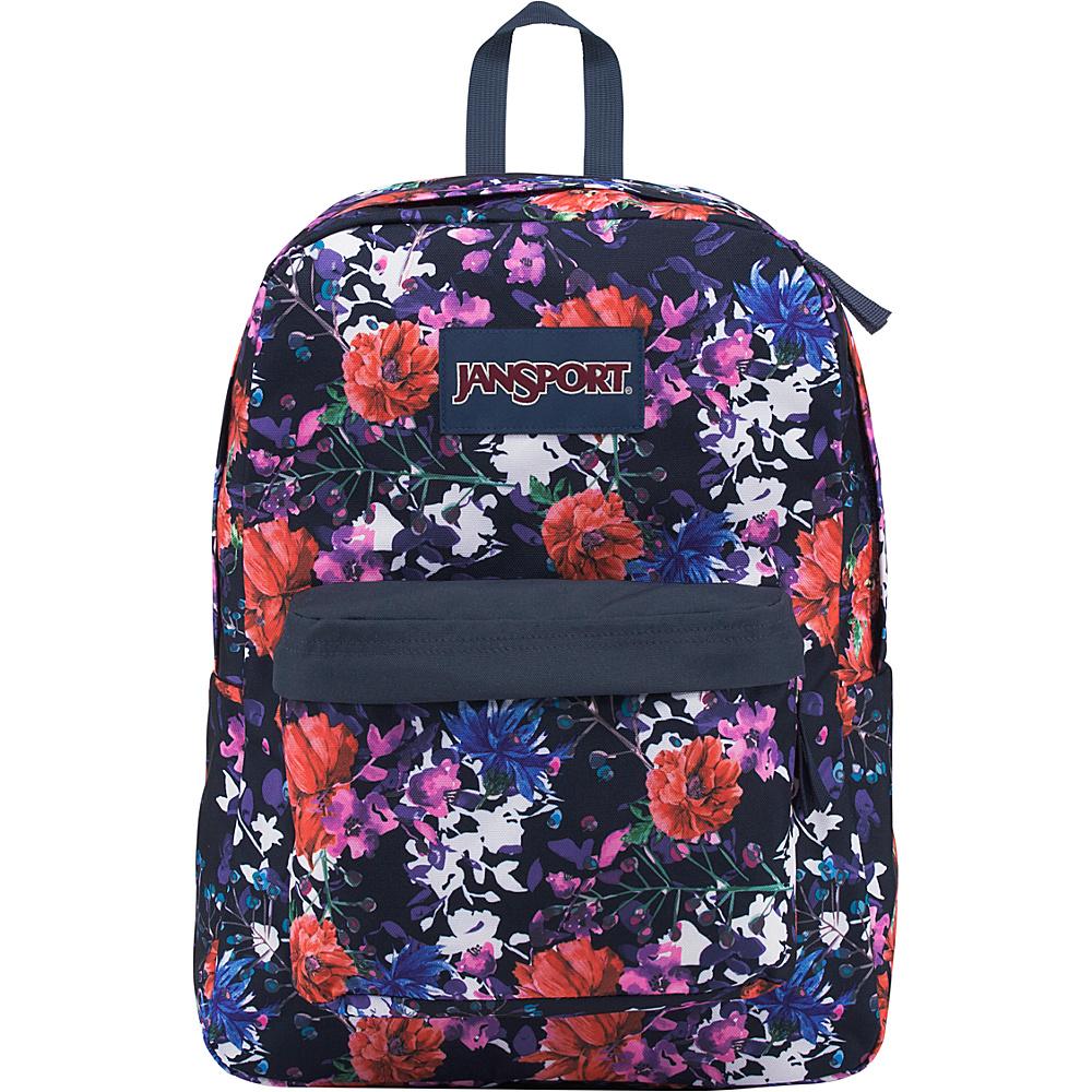 JanSport SuperBreak Backpack Morning Bloom - JanSport Everyday Backpacks