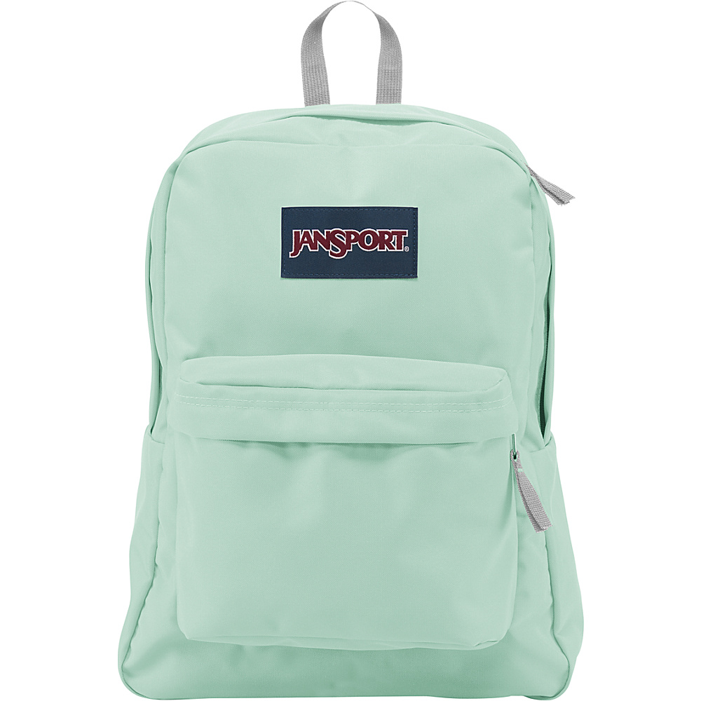 JanSport SuperBreak Backpack Brook Green - JanSport Everyday Backpacks
