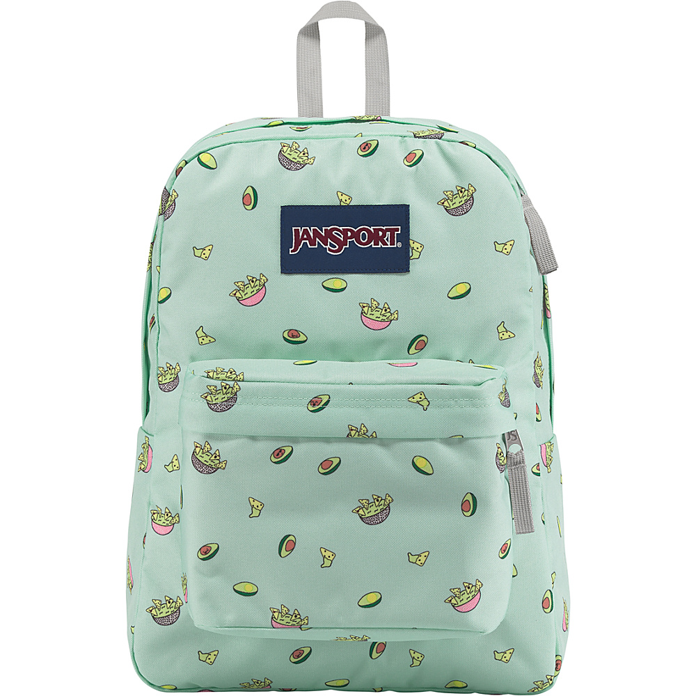 JanSport SuperBreak Backpack Avocado Party - JanSport Everyday Backpacks