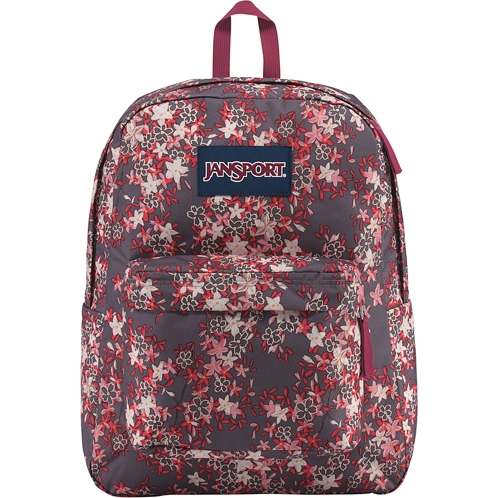 JanSport SuperBreak Backpack Folk Floral - JanSport Everyday Backpacks