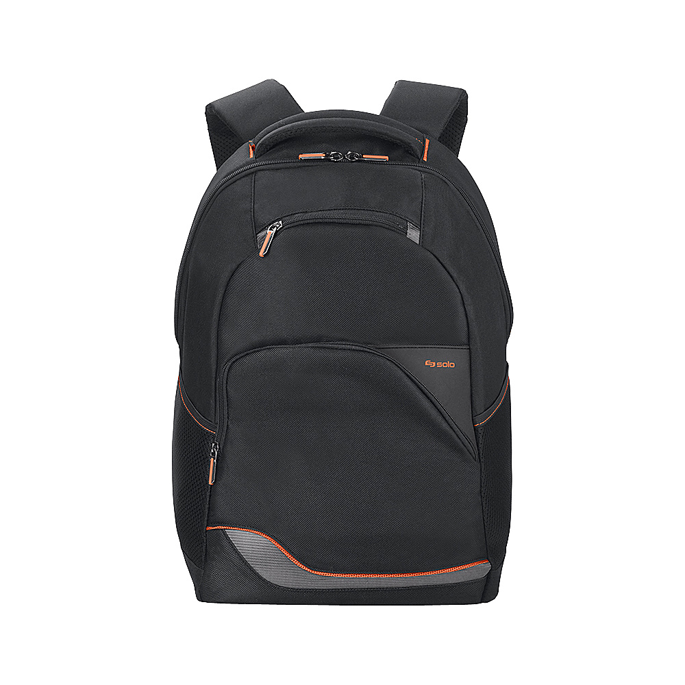SOLO Vector 16 Laptop Backpack - Black - Backpacks, Business & Laptop Backpacks