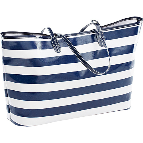 Clava Wellie Tote Navy/White Stripe - Clava Ladies' Business