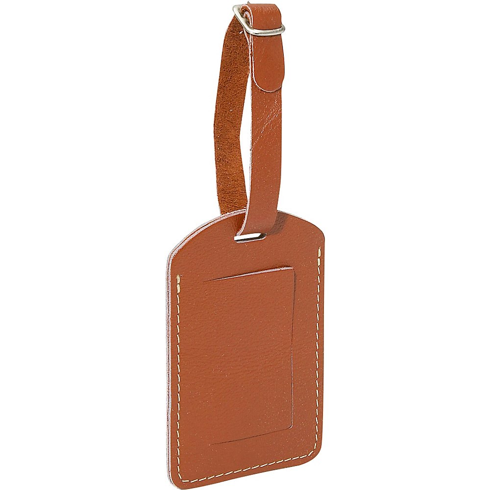 Piel I.D. Tag - Saddle - Travel Accessories, Luggage Accessories