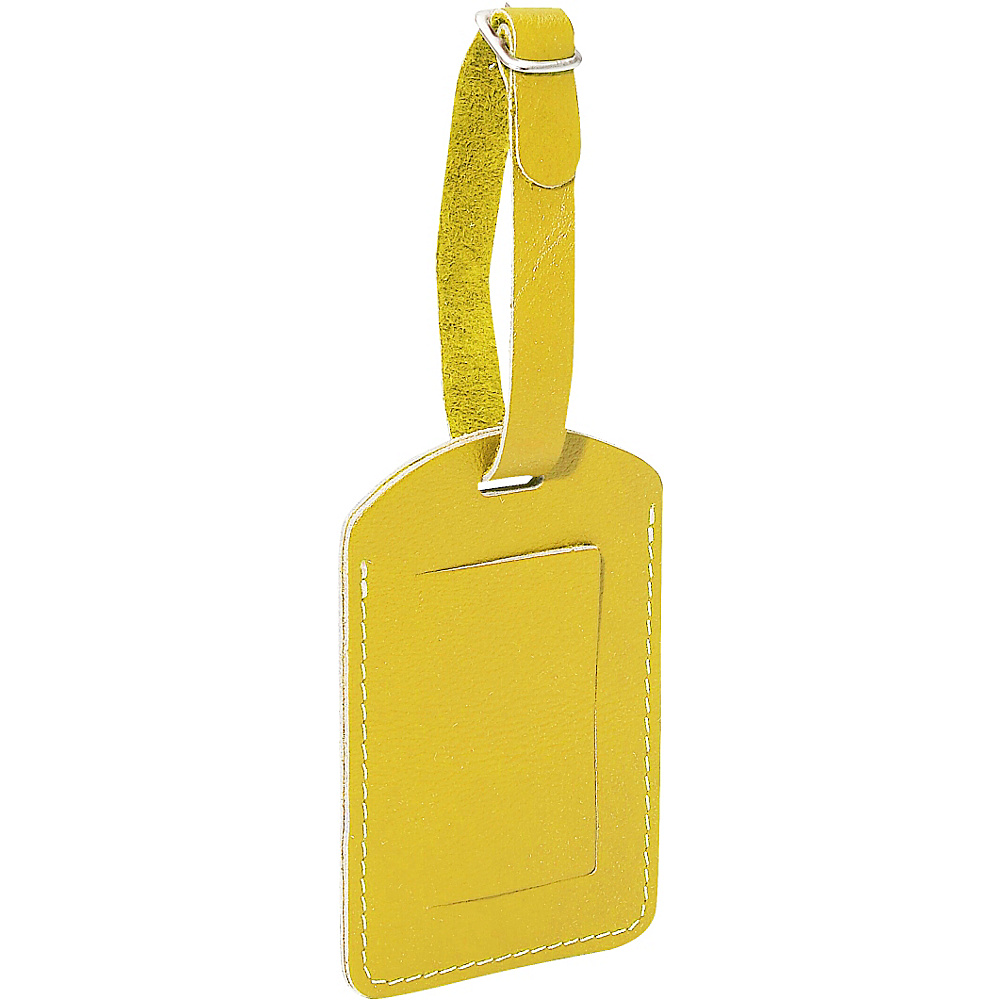 Piel I.D. Tag - Yellow - Travel Accessories, Luggage Accessories