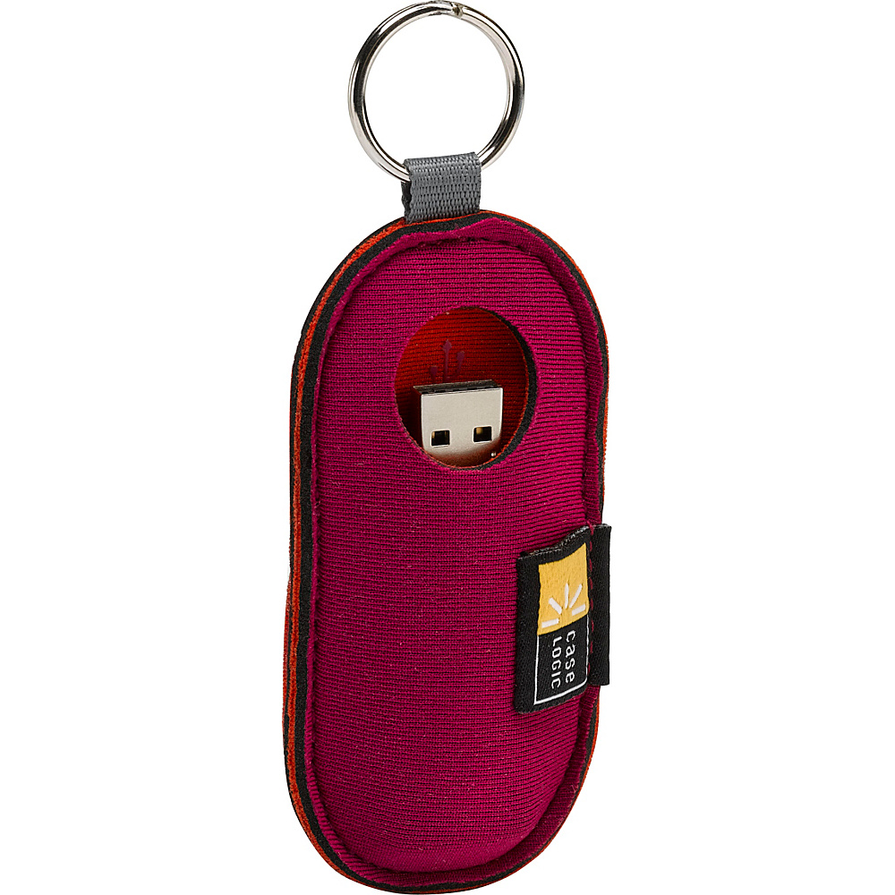 Case Logic USB Flash Drive Case Magenta