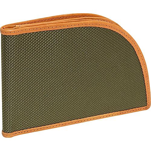 Rogue Wallets RFID Ballistic Nylon Wallet - Green