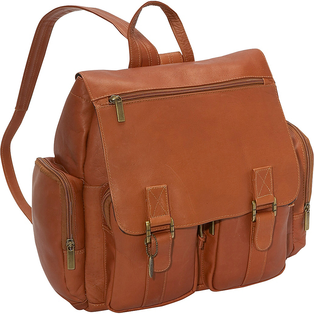 David King & Co. Laptop Backpack Tan - David King & Co. Business & Laptop Backpacks - Backpacks, Business & Laptop Backpacks