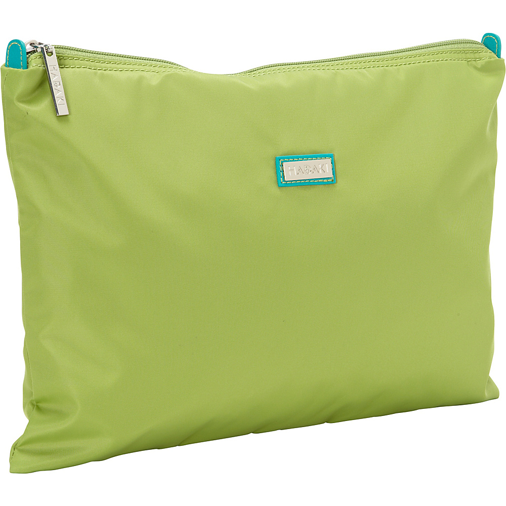 Hadaki Large Zippered Carry All Piquat Green - Hadaki Toiletry Kits - Travel Accessories, Toiletry Kits