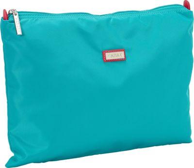 Hadaki Large Zippered Carry All Viridian Green - Hadaki Toiletry Kits