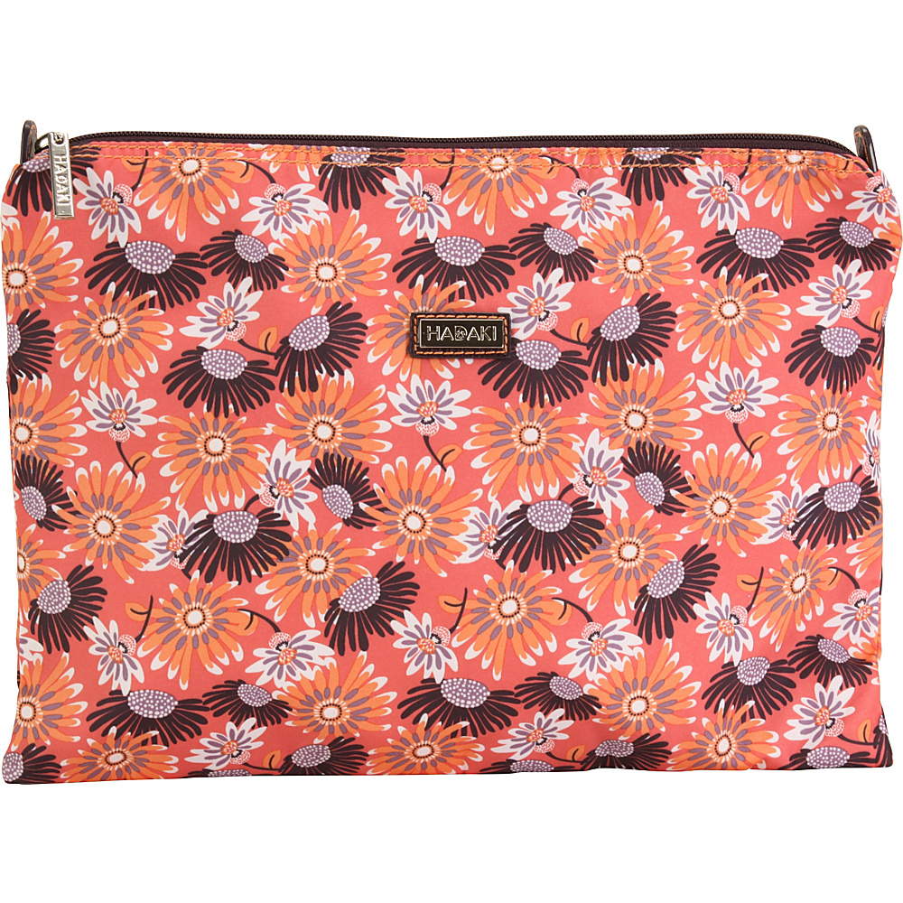 Hadaki Large Zippered Carry All Daisies - Hadaki Toiletry Kits - Travel Accessories, Toiletry Kits