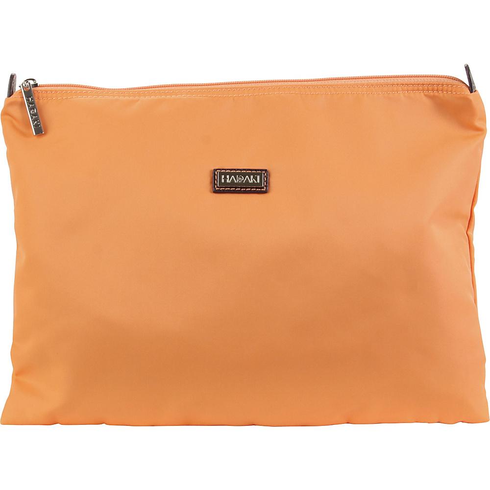 Hadaki Large Zippered Carry All Melon Solid - Hadaki Toiletry Kits - Travel Accessories, Toiletry Kits