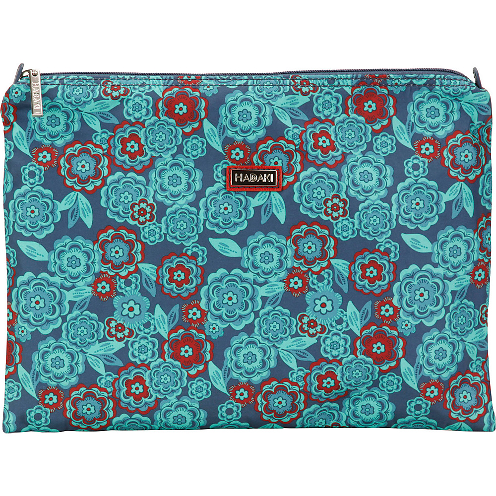 Hadaki Large Zippered Carry All Floral - Hadaki Toiletry Kits - Travel Accessories, Toiletry Kits