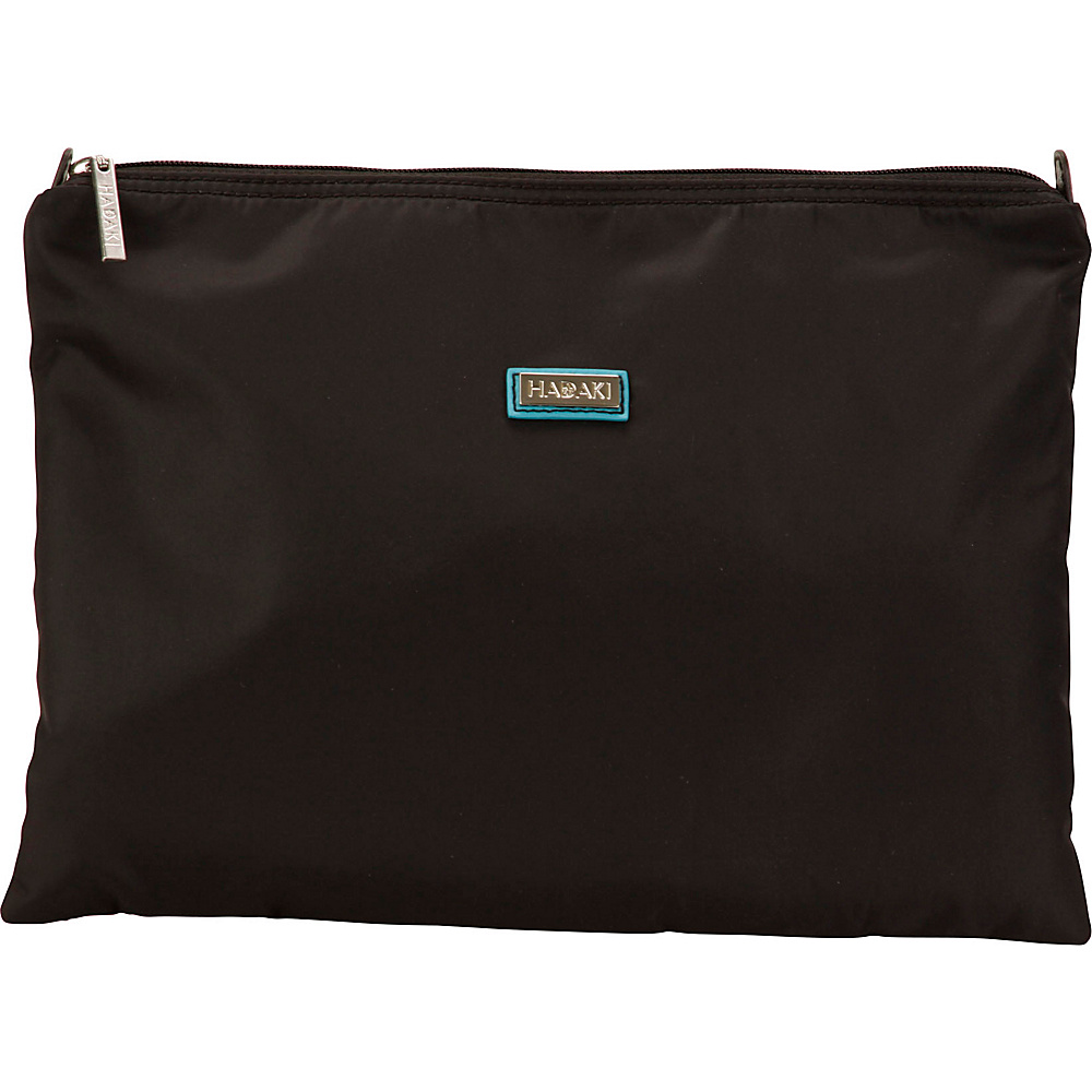 Hadaki Large Zippered Carry All Black - Hadaki Toiletry Kits - Travel Accessories, Toiletry Kits