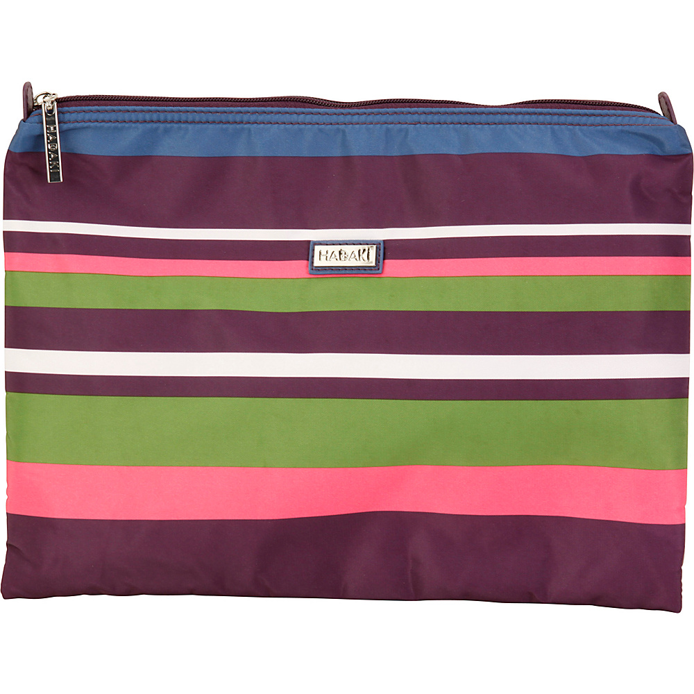 Hadaki Large Zippered Carry All Stripes - Hadaki Toiletry Kits - Travel Accessories, Toiletry Kits