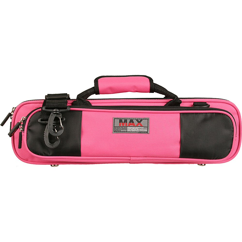 Protec MAX Flute Case for Bb or C Foot - Fuschia