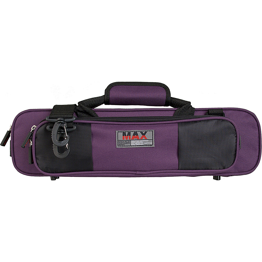 Protec MAX Flute Case for Bb or C Foot Purple - Protec Business Accessories