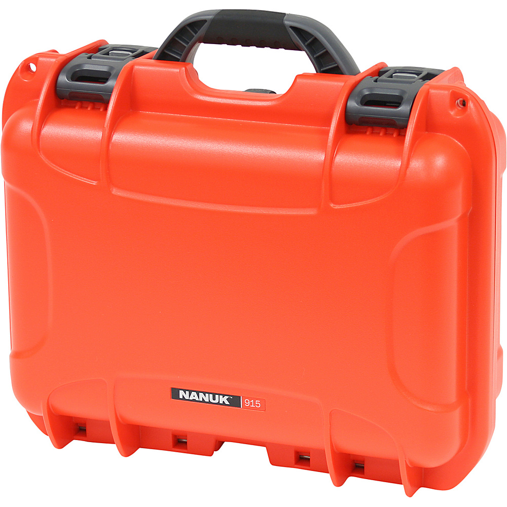 NANUK 915 Case w/foam - Orange - Technology, Camera Accessories