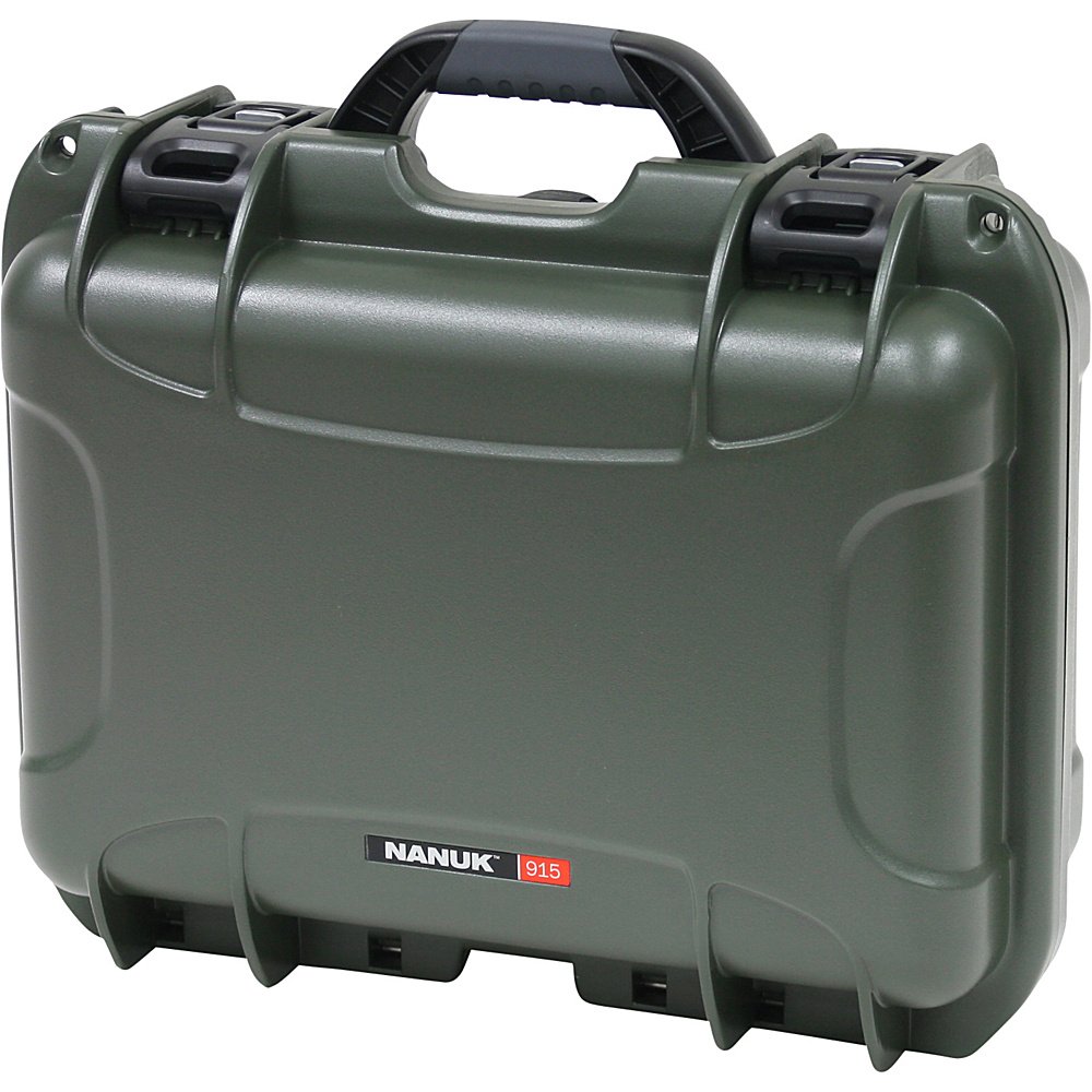 NANUK 915 Case w/foam - Olive - Technology, Camera Accessories