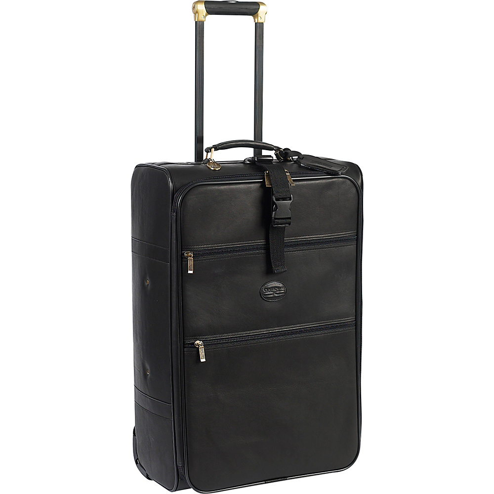 ClaireChase Grande 27 Pullman Upright Black - ClaireChase Softside Checked - Luggage, Softside Checked