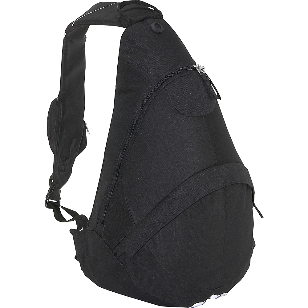 Everest Deluxe Sling Backpack - Black - Backpacks, Slings