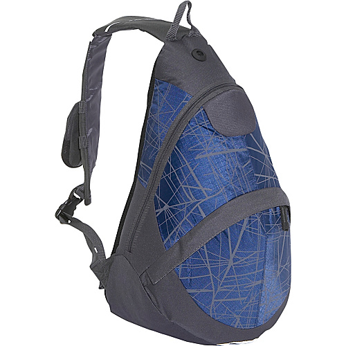 Everest Deluxe Sling Backpack Charcoal/Navy - Slings