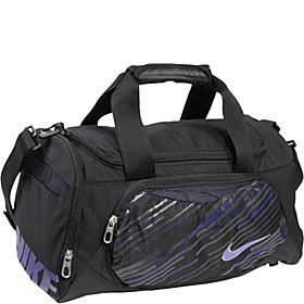 Young Athletes Team Training Small Duffel Black/Black/Purple Earth