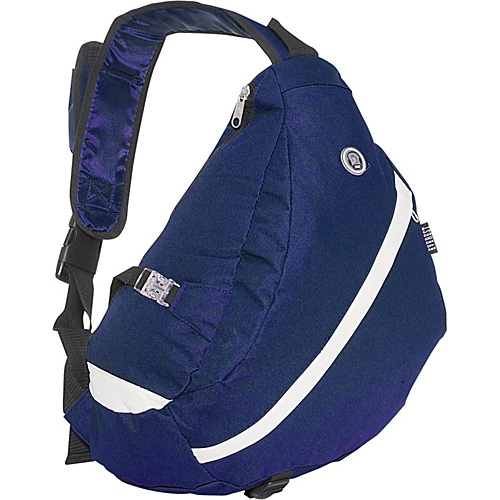 Everest Sporty Sling Backpack - Navy / Beige