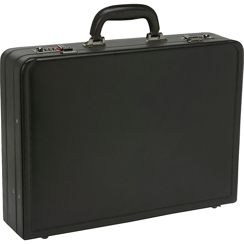 Samsonite Bonded Leather Attach - Black - Work Bags & Briefcases, Non-Wheeled Business Cases