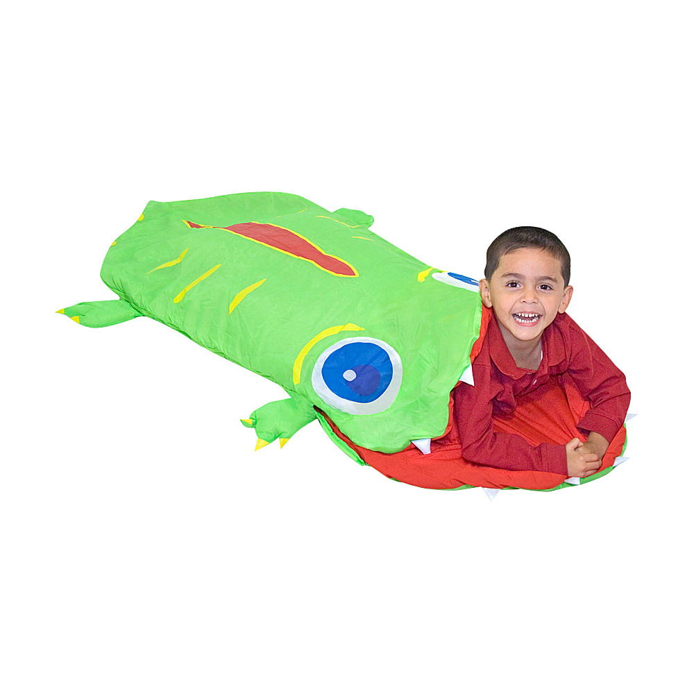 Melissa & Doug Augie Alligator Sleeping Bag - Green