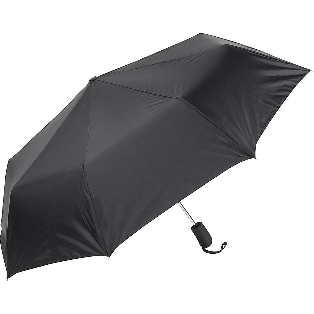 ShedRain Auto Open Mini Umbrella - Solid Colors Black - ShedRain Umbrellas and Rain Gear - Travel Accessories, Umbrellas and Rain Gear