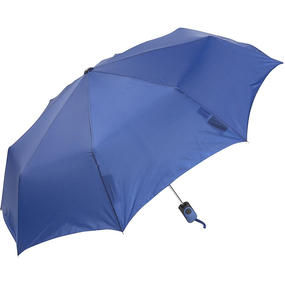 ShedRain Auto Open Mini Umbrella - Solid Colors Royal - ShedRain Umbrellas and Rain Gear - Travel Accessories, Umbrellas and Rain Gear
