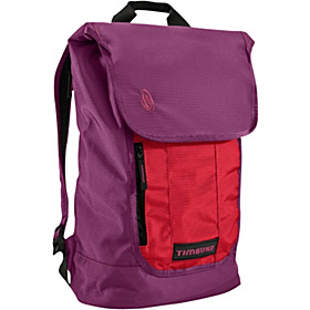 Candybar Backpack for iPad Village Violet/Rev Red
