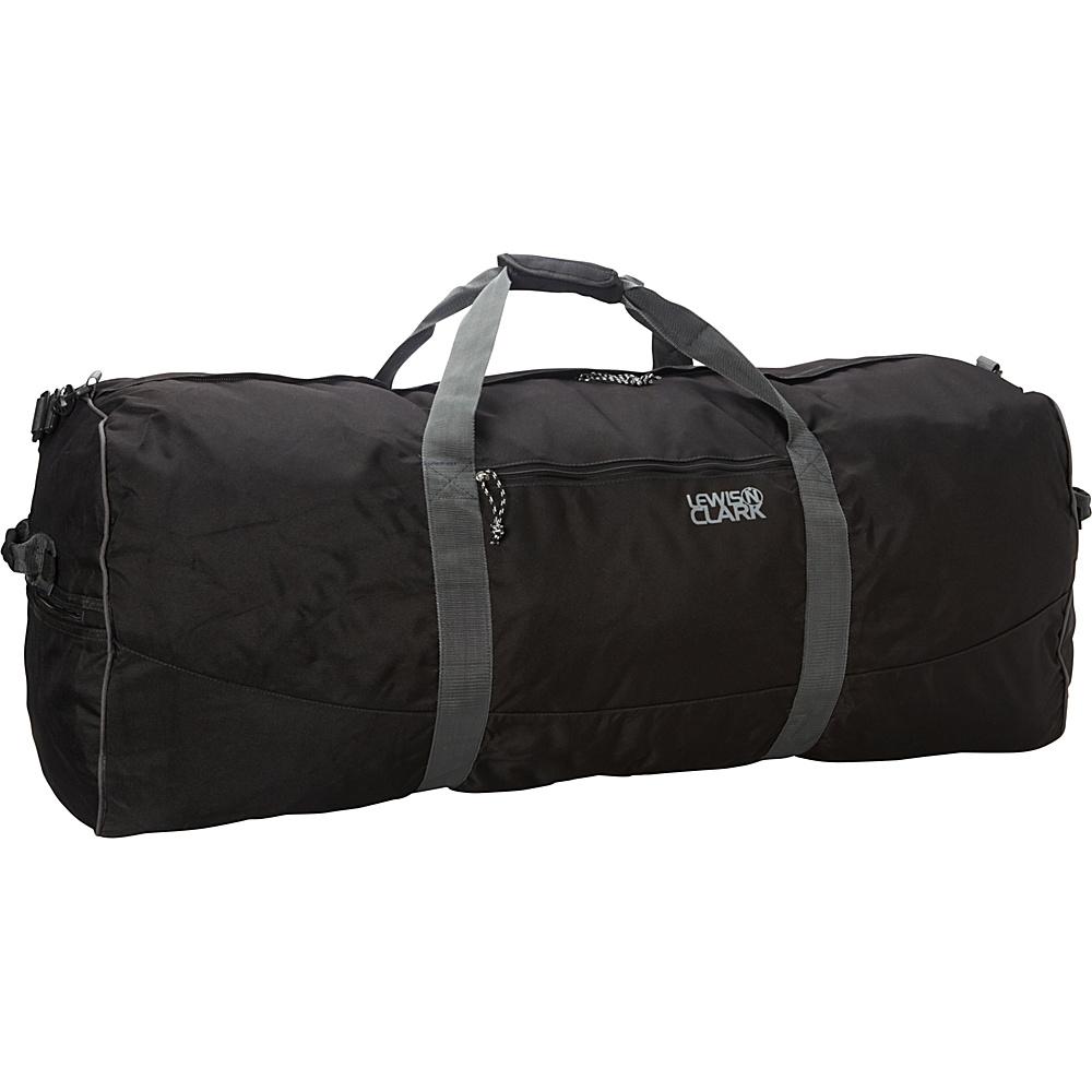 Lewis N. Clark Uncharted Duffel Bag - X-Large - Black - Duffels, Travel Duffels