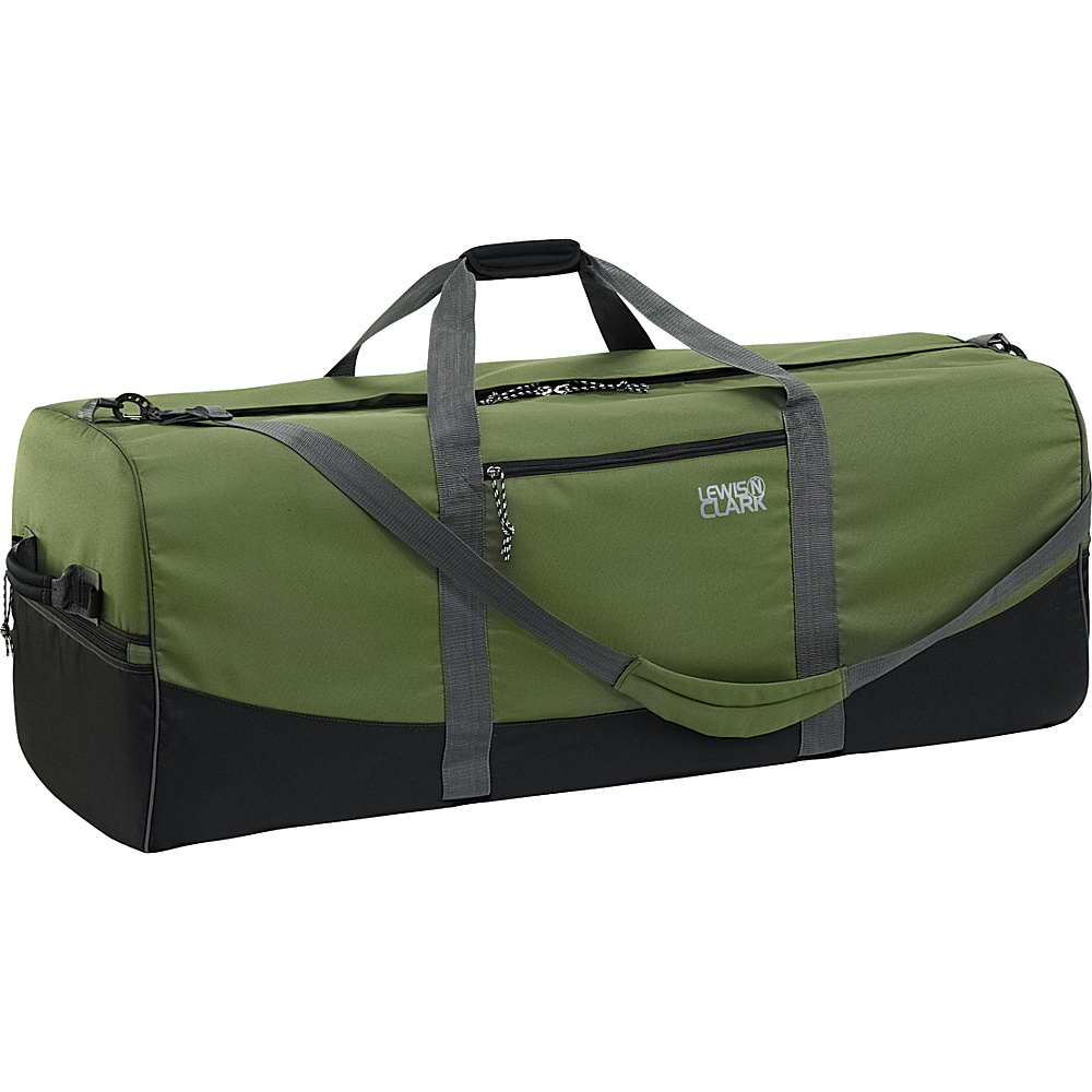 Lewis N. Clark Uncharted Duffel Bag - X-Large - Green - Luggage, Rolling Duffels