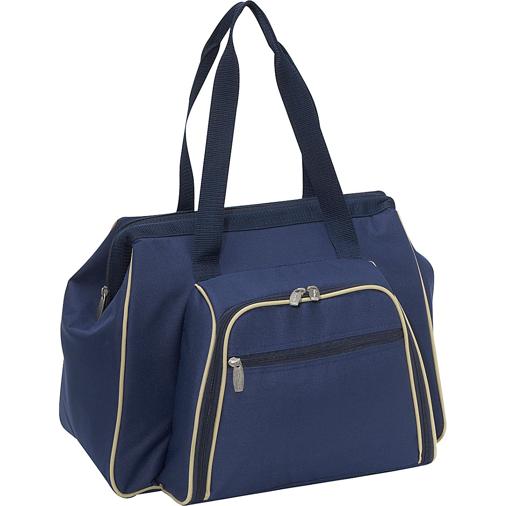 Picnic Time Toluca Insulated Cooler Navy Blue