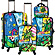 Palm 4 Piece Luggage Set Britto Palm