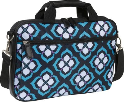 Nuo Chloe Dao 14 inch Laptop Attache - Blue Lotus