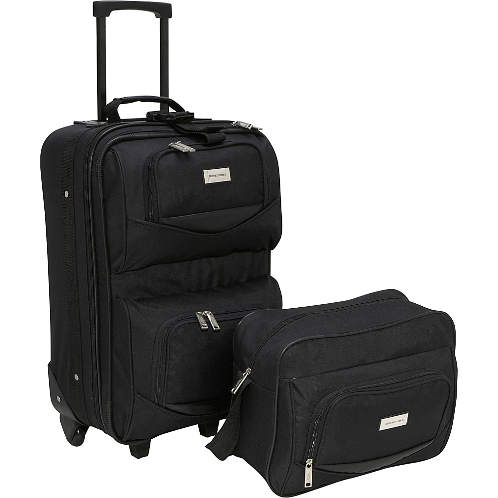 Geoffrey Beene Luggage 2 Piece Main Street Luggage Set