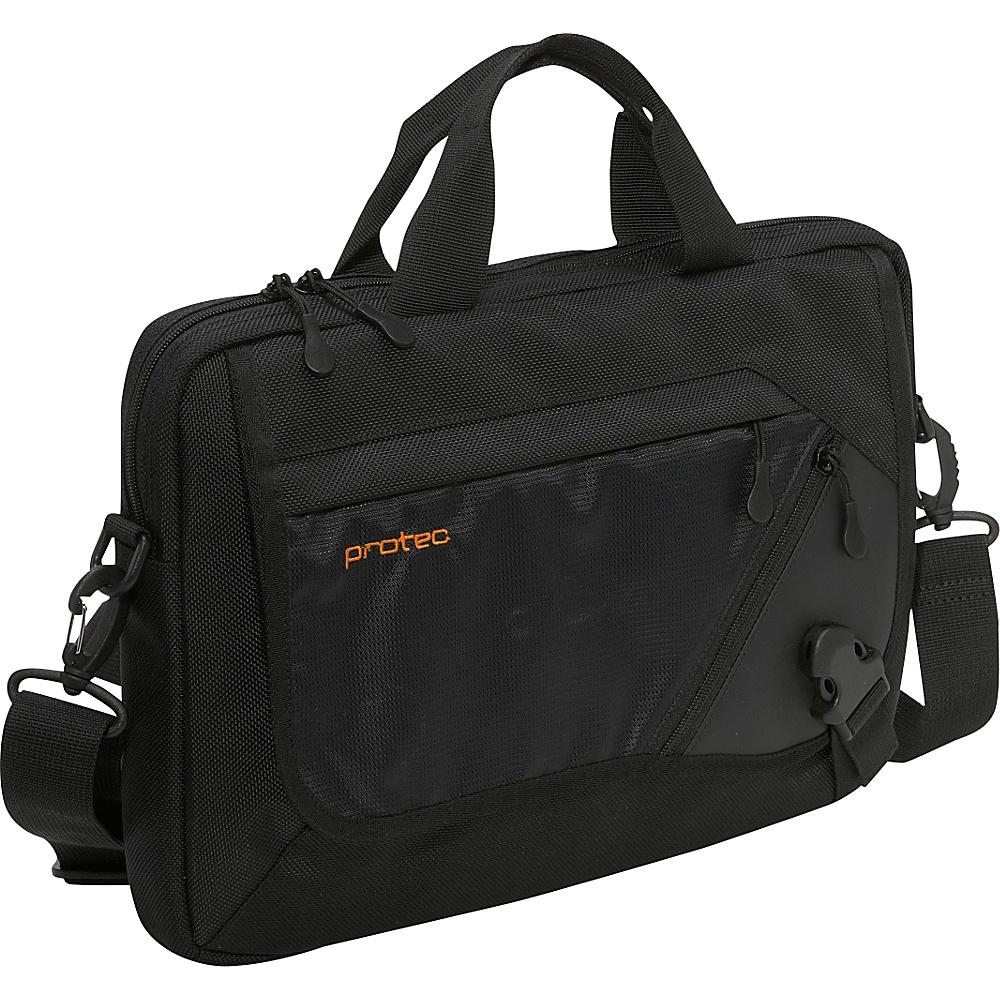 Protec Slim Notebook/Tablet Messenger Brief - Black