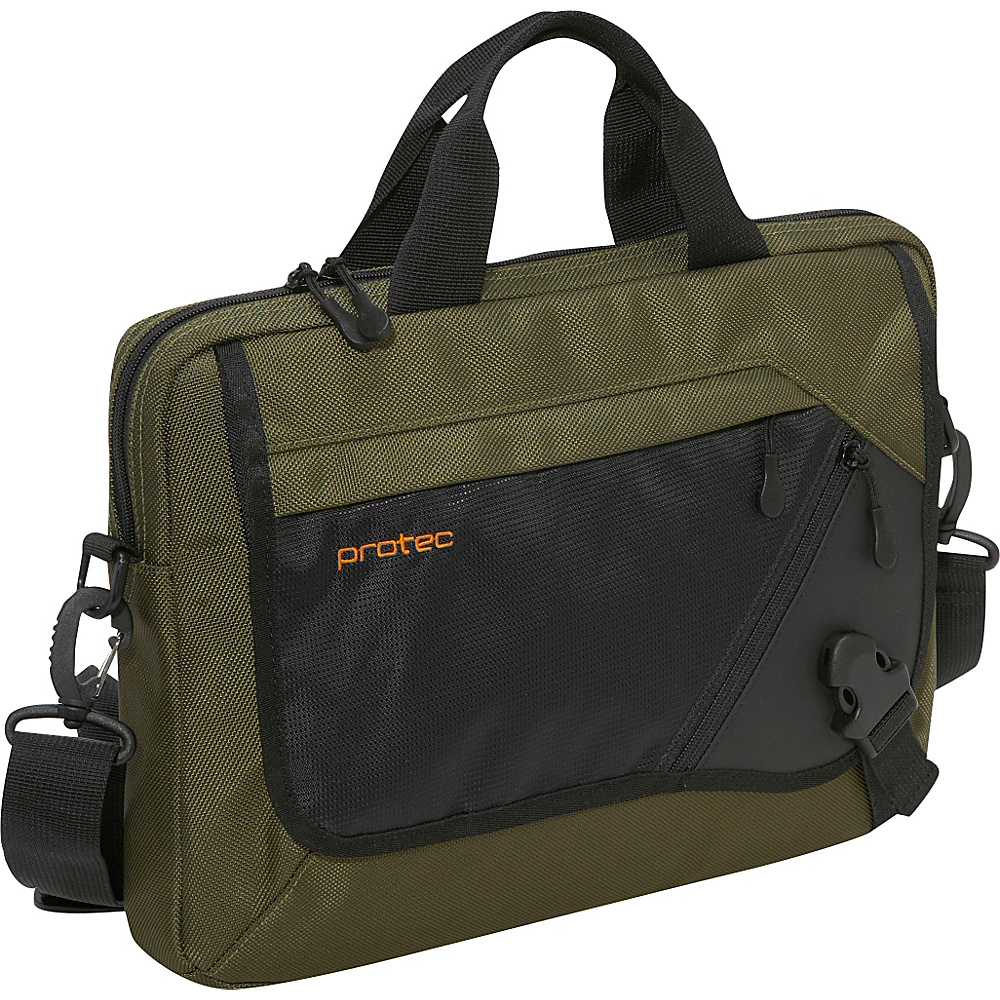 Protec Slim Notebook/Tablet Messenger Brief - Surplus