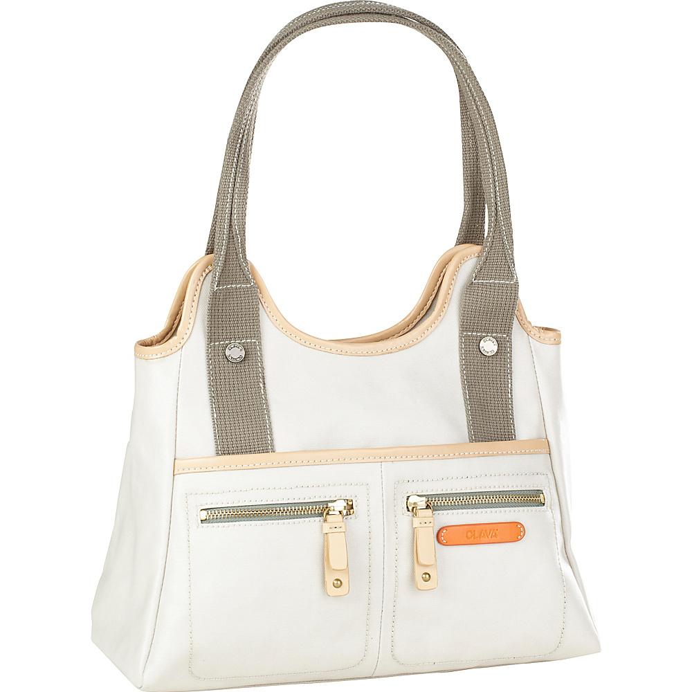Clava Carina Triangle Tote - Shoulder Bag - Handbags, Fabric Handbags