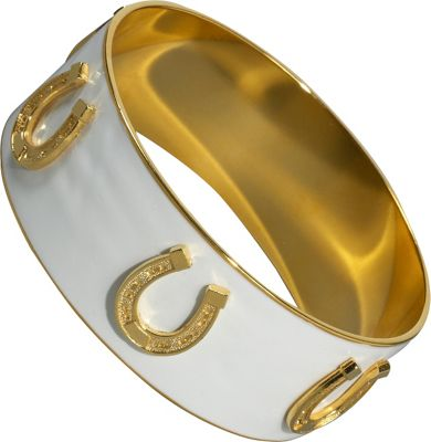 KEP Designs 1 inch Horseshoe Charm Bangle