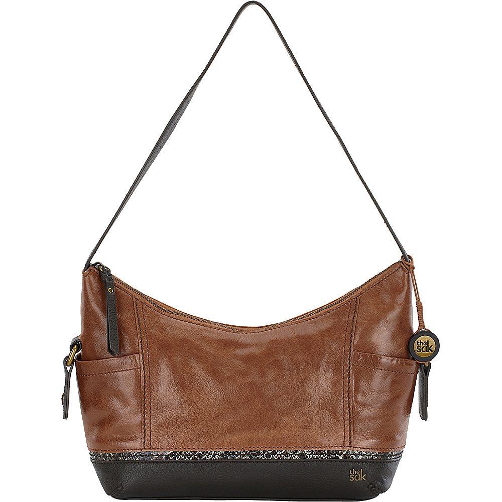 The Sak Kendra Hobo Brown Snake Multi The Sak Leather Handbags