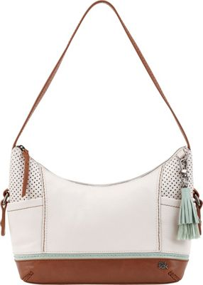 The Sak Kendra Hobo Stone Canyon Perf - The Sak Leather Handbags